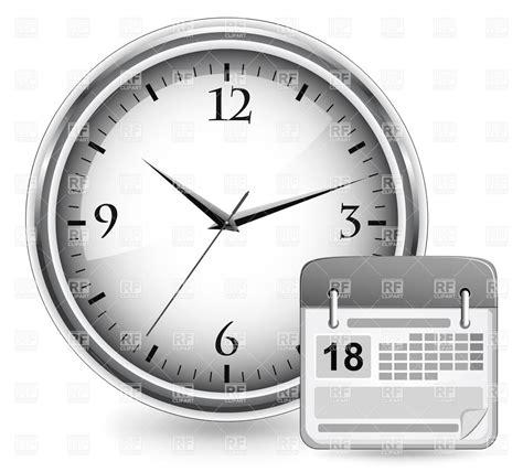 E Calendar Clock Clock And Calendar Clipart Calendar Template 2016
