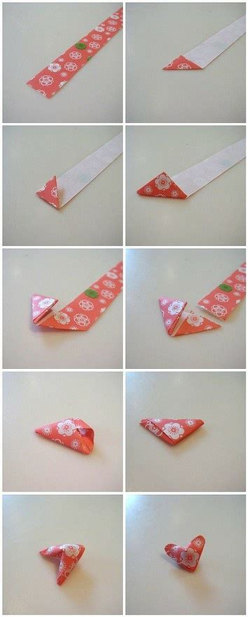 tutorial origami heart 1000 images about paper strip stars on pinterest lucky