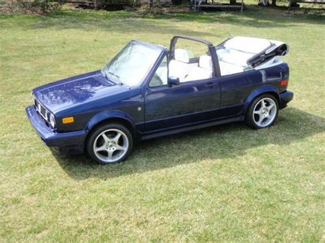 how to fix cars 1992 volkswagen cabriolet electronic throttle control find used 1992 vw cabriolet convertible wolfsburg ed karmin restored classic ready to go in