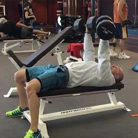 slight incline bench press the new way to train upper body twice a week