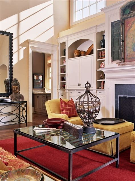 Traditional Living Room Fireplace Mantel Design, Pictures