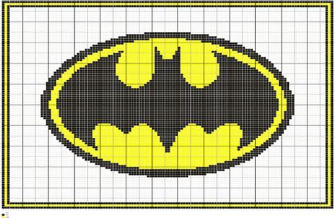 batman knitting chart knit batman symbol graph intarsia knitting chart pattern