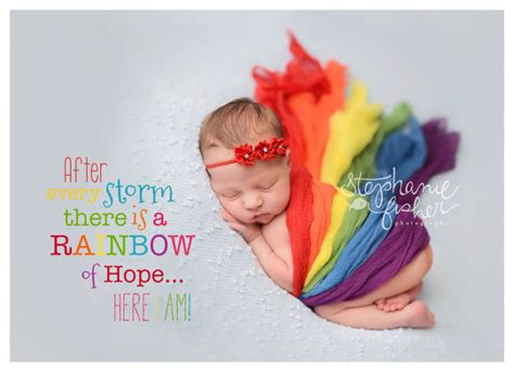 rainbow baby announcement cards baby shower invites