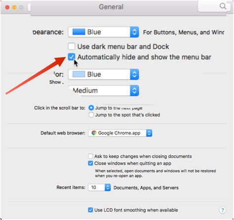 Top Menu Bar Disappears by How To Automatically Hide Menu Bar On Your Mac Tips