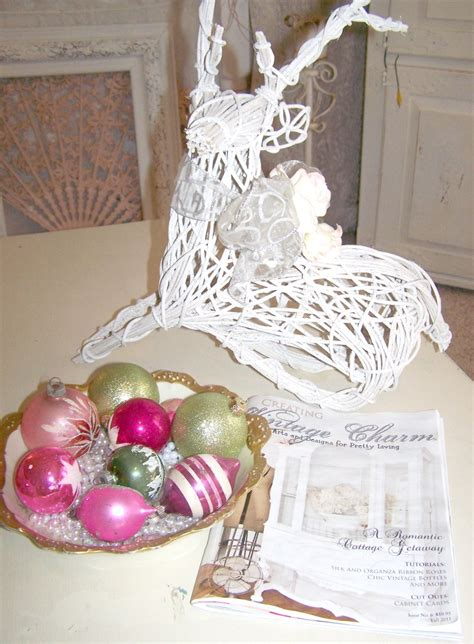 olivias romantic home merry shabby chic pink christmas