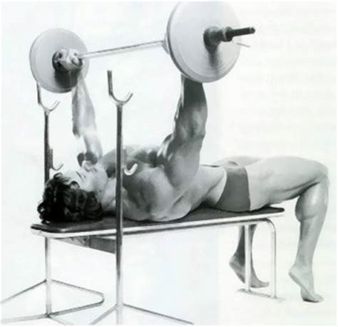 arnold schwarzenegger max bench press beefing the chest with john bubb should you do flat