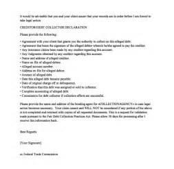 debt validation template sle debt validation letter resumes design
