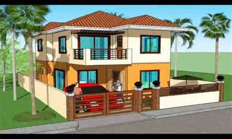 2 Storey House Plans In The Philippines Modern House House Plans Philippines