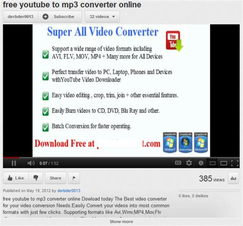 mp3 download converter url scam sites lure victims with fake youtube to mp3 converters