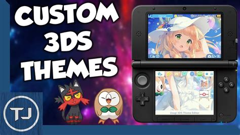 install themes by james how to install custom 3ds themes homebrew 2017 tutorial