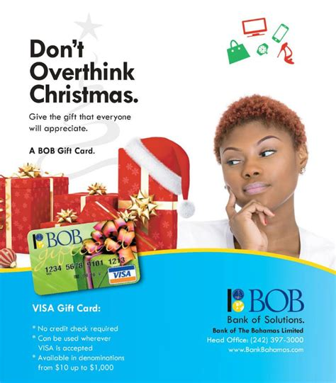 What Name Do I Use For Visa Gift Card - don t overthink christmas give bob visa gift cards my deals today bahamas