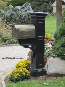 Decorative Mailboxes Whitehall Mailbox And Mayne Liberty Mailbox Post
