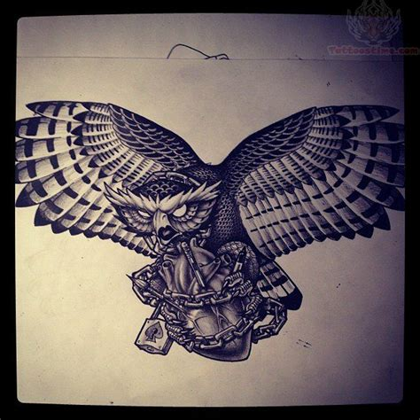 flying owl tattoo design wow flying owl tattoo gerts tattoo ideas pinterest