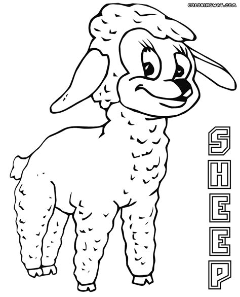 sheep coloring page pdf sheep coloring pages coloring pages to download and print