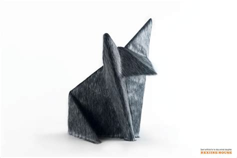 Wolf Origami - rexiine house print advert by jwt origami wolf ads of