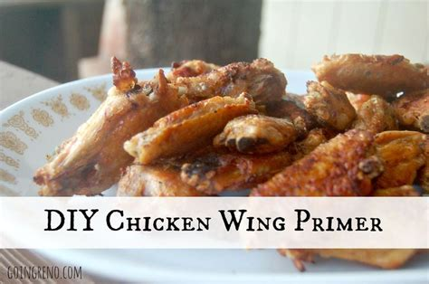 diy chicken wing primer here are the basic steps for