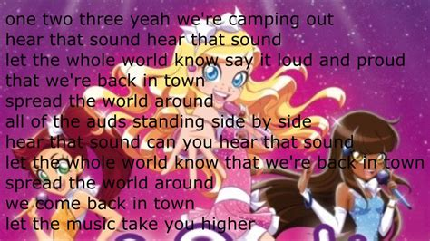 theme songs english lolirock higher english lyrics youtube