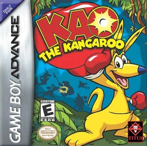 emuparadise my boy kao the kangaroo u paracox rom