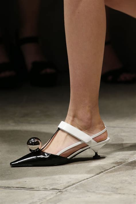Prada Details Another Heel by Prada 2016 Ready To Wear Fashion Show Details