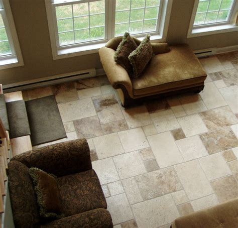 Tile Floors In Living Room by Tile Floor