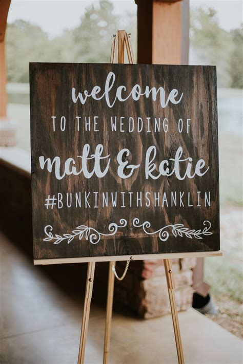 Wedding Hashtag by Rustic Affair Wedding Wedding Signage And Weddings