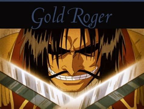 film one piece gold roger gold d roger anime picture