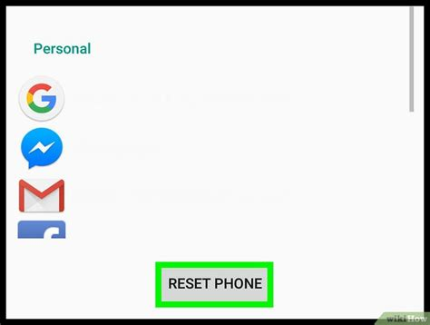 reset android version 2 3 6 android端末をリセットする方法 wikihow