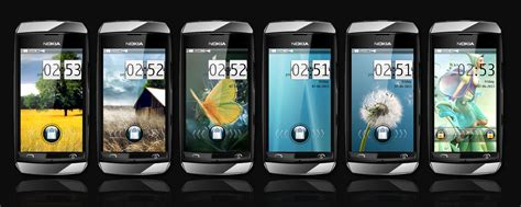 nokia asha phone themes download nokia full touch themes mkraj25 theme archive