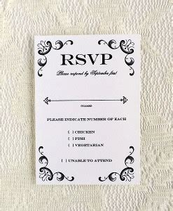response cards template for weddings rsvp cards print