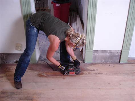 How To Paint Wood Floors Diy Network by How To Stain A Hardwood Floor How Tos Diy