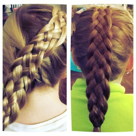 written instructions for 5 strand dutch braid new favorite braid to do 5 strand dutch braid braids