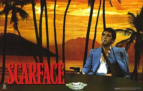 Scarface Wall Mural scarface movie posters at movie poster warehouse