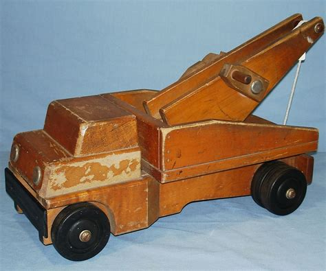wooden truck vintage 1960 s community rifton ny wood tow truck
