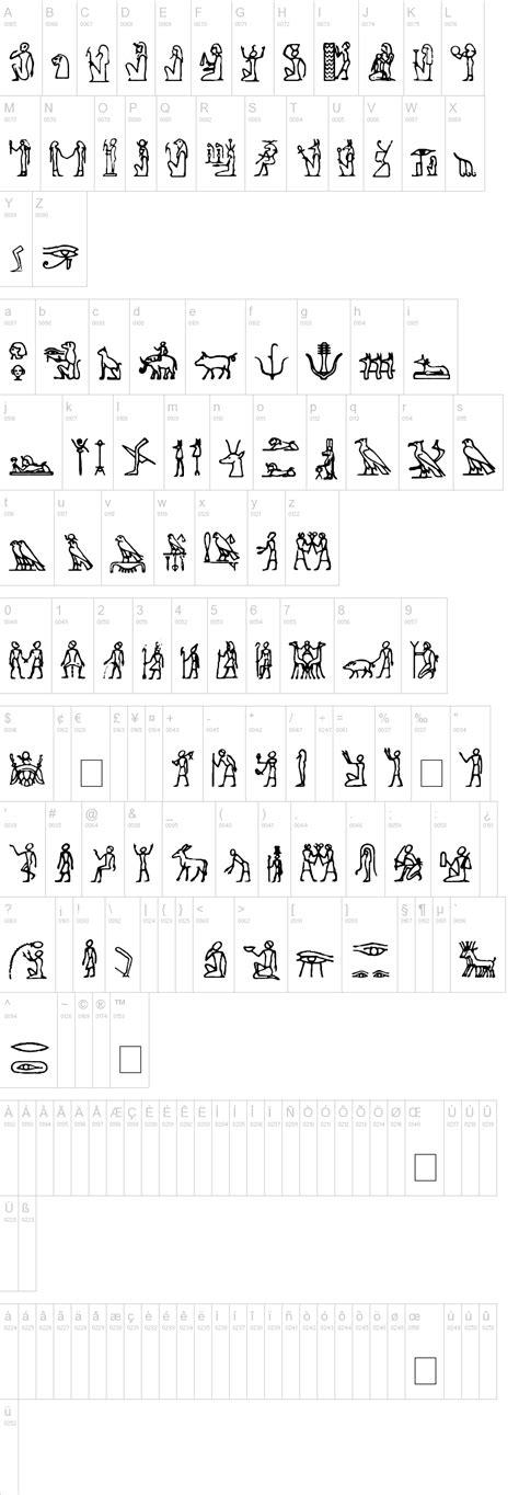 dafont google hieroglify font dafont com