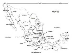printable map of us and mexico mexico labeled map free printable allfreeprintable