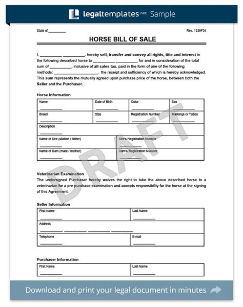 doc 600792 equipment bill of sale template equipment