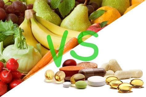 supplement vs supplements vs whole foods health and food matters