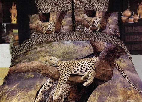 Colorful Mart Leopard Style17 Cheetah Print Leopard Print Cheetah Bed Set