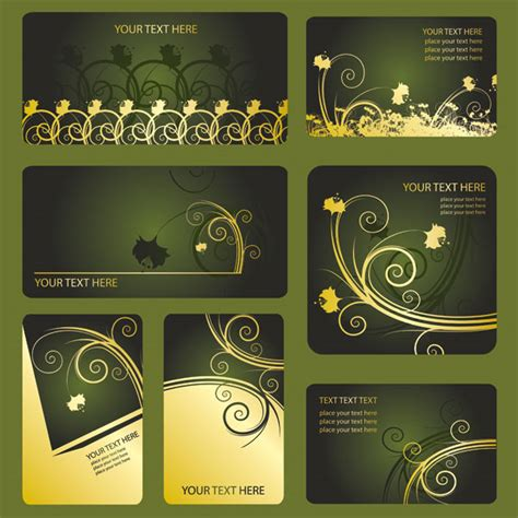 vip business card template keyword pattern card vip card membership card business