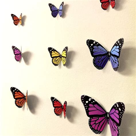 3d butterfly stickers for walls 3d butterfly wall stickers wall decors wall wall