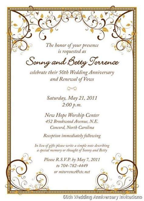 60Th Wedding Anniversary Invitations Templates    boda