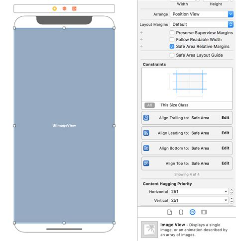 xcode layout margins ios11 how to prevent app from overlapping status bar in