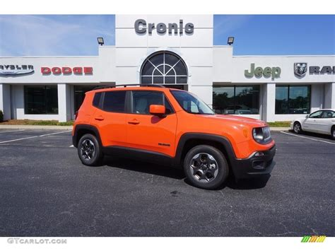 jeep renegade orange 2017 2017 omaha orange jeep renegade latitude 121245527 photo