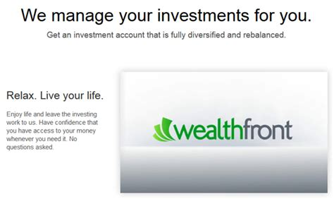 wp sifu we manage your wealthfront review what is wealthfront