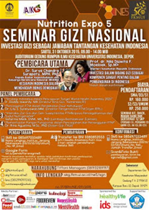 desain baju ibi seminar gizi nasional universitas indonesia 2015