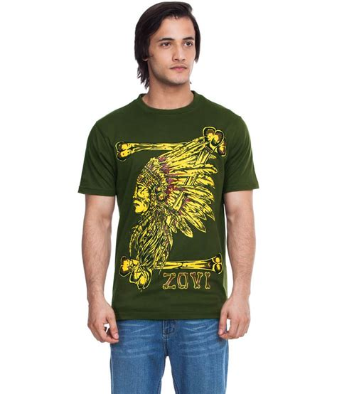 Rs Bone Tshirt zovi bones forest green graphic t shirt buy zovi bones