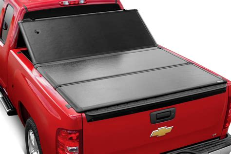 hard tri fold bed cover extang 62430 2009 2018 dodge ram 3500 with 6 4 quot bed
