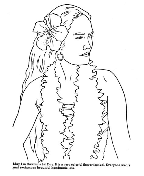coloring page hawaii hawaiian coloring pages coloring home