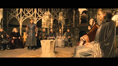 Council Of Elrond | lotr the fellowship of the ring extended edition the