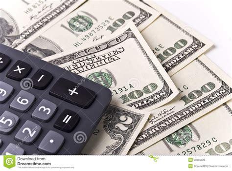 calculator dollar money and calculator stock photos image 20666623